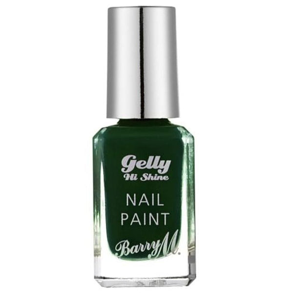Barry Black Pistachio GNP40 Green Nail Polish - The Gelly Nail Effects Collection