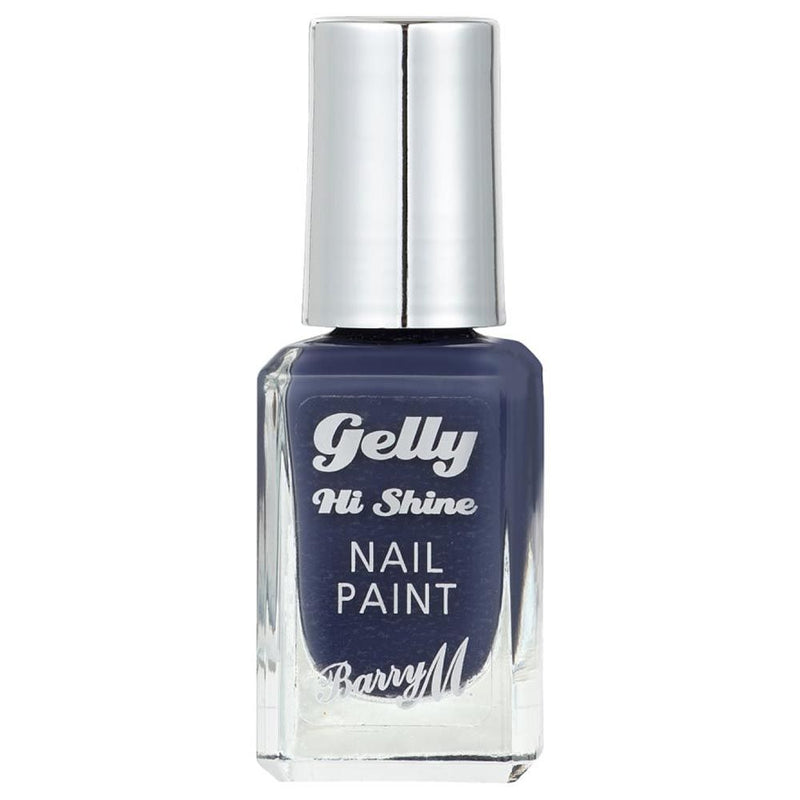 Barry Blue Jade GNP49 Blue Grey Nail Polish - The Gelly Nail Effects Collection