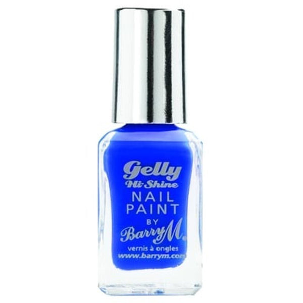 Barry Damson GNP27 Blue Nail Polish - The Gelly Nail Effects Collection