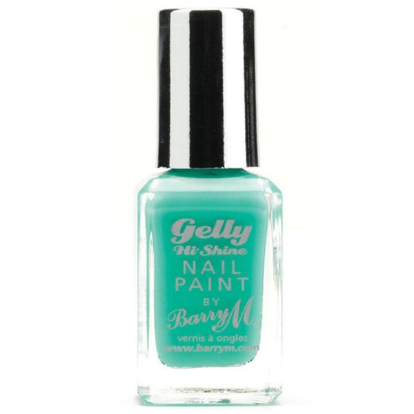Barry Green Berry GNP12 Green Nail Polish - The Gelly Nail Effects Collection