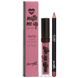 Barry M Bespoke Matte Liquid Lip Kit LKF