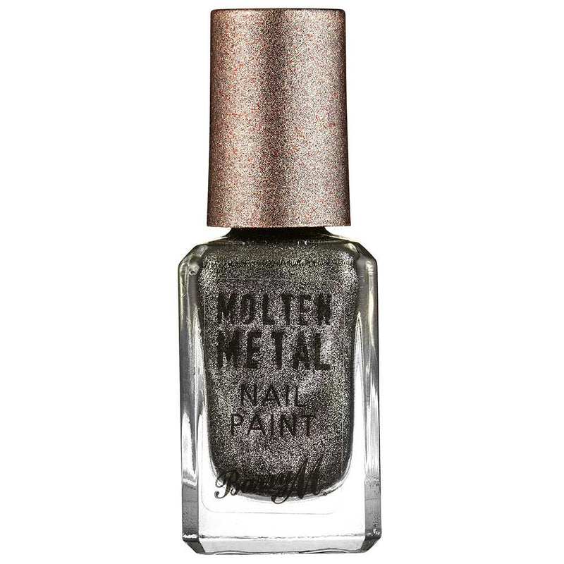 Barry M Black Diamond MTNP7 Black Nail Polish - Molten Metal Collection
