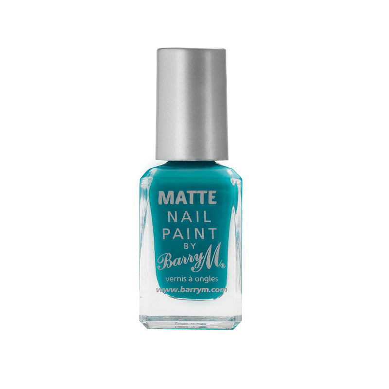 Barry M Cancun MNP10 Teal Nail Polish - The Classic Matte Collection