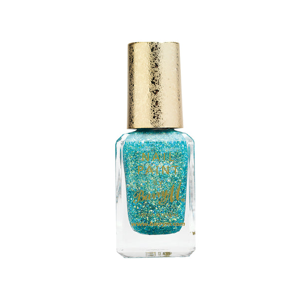 Barry M Catwalk Queen GTNP4 Sea Green Nail Polish - The Glitterati Collection