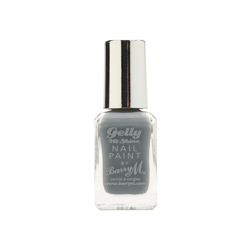 Barry M Chai GNP29 Light Grey Nail Polish - The Gelly Nail Effects Collection