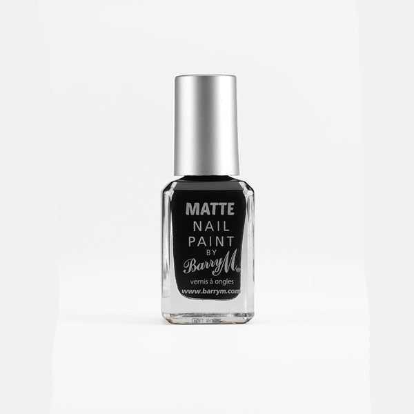 Barry M Espresso MNP1 Black Nail Polish - The Classic Matte Collection