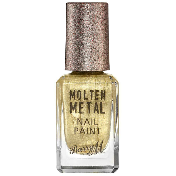 Barry M Gold Digger MTNP2 Gold Nail Polish - Molten Metal Collection
