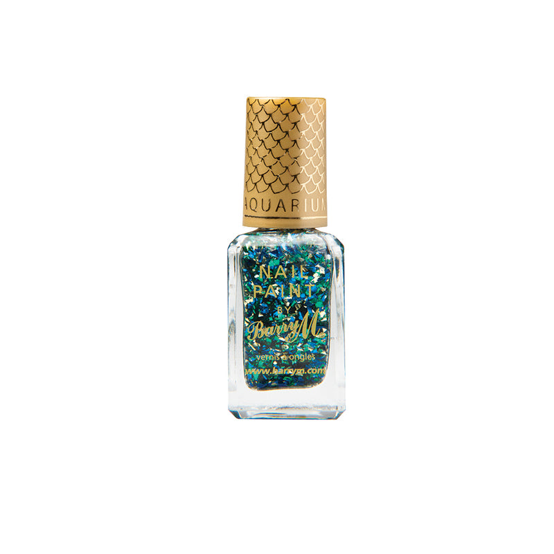 Barry M Mermaid AQNP1 Multicolour Nail Polish - Aquarium Nail Effects Collection