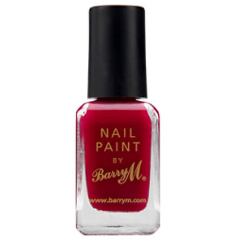 Barry M NP273 Raspberry Nail Polish - The Nail Paint Collection