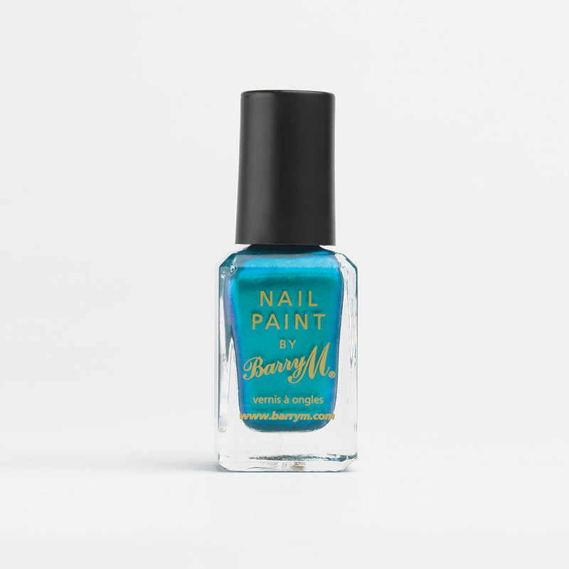 Barry M NP334 Teal Nail Polish - The Nail Paint Collection