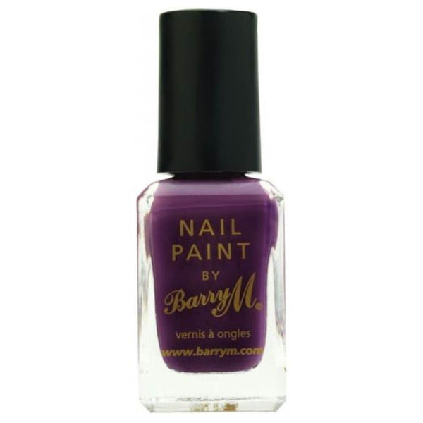 Barry M NP358 Vintage Violet Nail Polish - The Nail Paint Collection