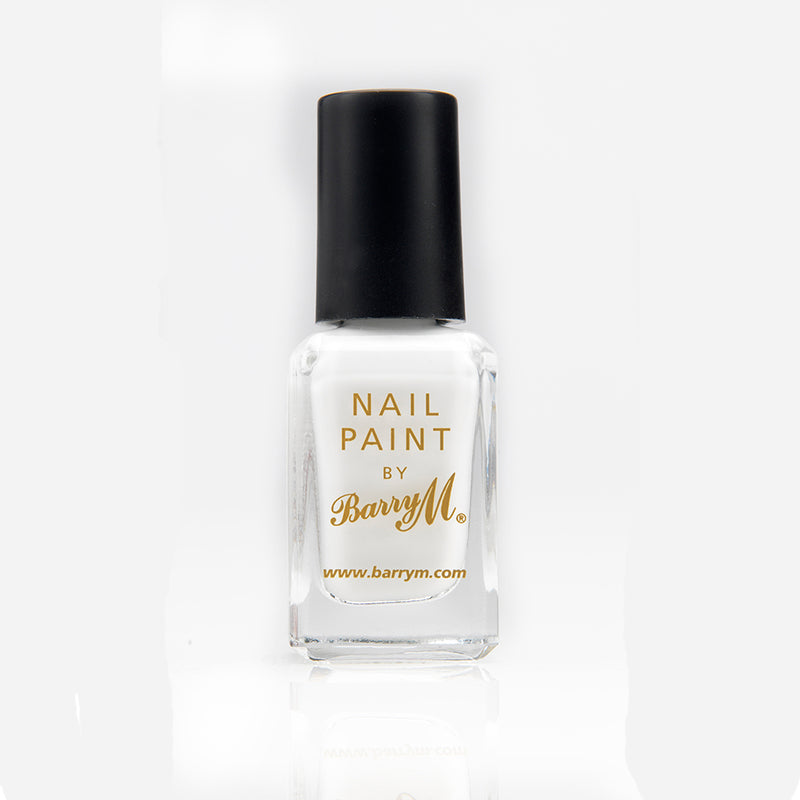Barry M NP66 White Nail Polish - The Nail Paint Collection