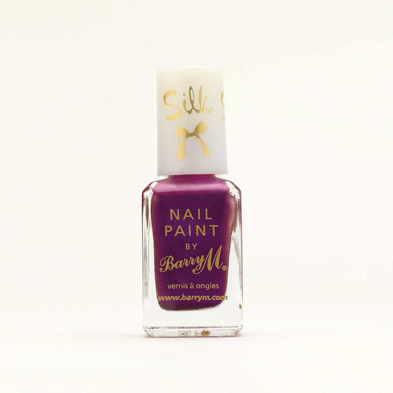 Barry M Orchid SKNP7 Purple Nail Polish - Aquarium Nail Effects Collection