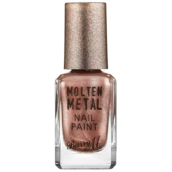 Barry M Pink Ice MTNP9 Pink Nail Polish - Molten Metal Collection