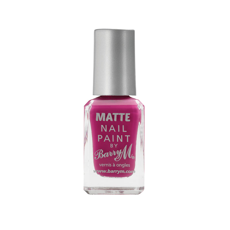 Barry M Rhossili MNP9 Pink Nail Polish - The Classic Matte Collection