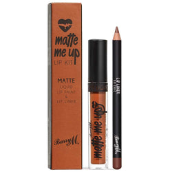 Barry M So Chic Matte Liquid Lip Kit LKE