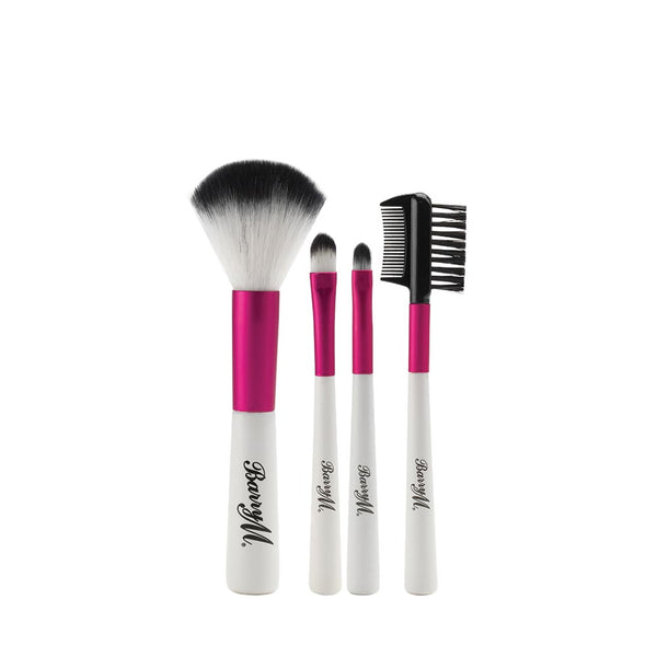 Barry M Synthetic Mini Makeup Brush Set MBS14 - Brushes Collection