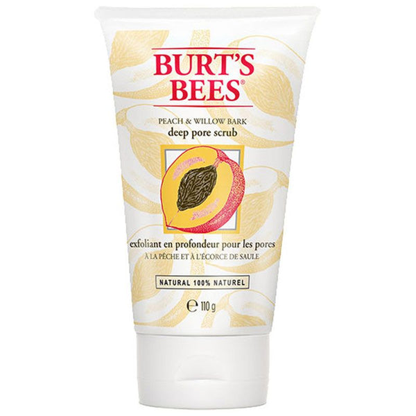Burt's Bees Peach and Willow Bark Deep Pore Scrub