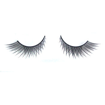 Eldora B130 Synthetic Black Criss Cross False Eyelashes