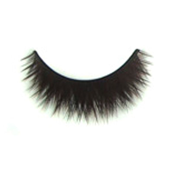 Eldora B131 Synthetic Black and Brown Criss Cross False Eyelashes
