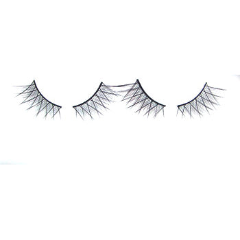 Eldora B155 Synthetic Black Criss Cross Double False Eyelashes