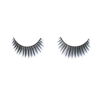 Eldora B172 Synthetic Black Round False Eyelashes