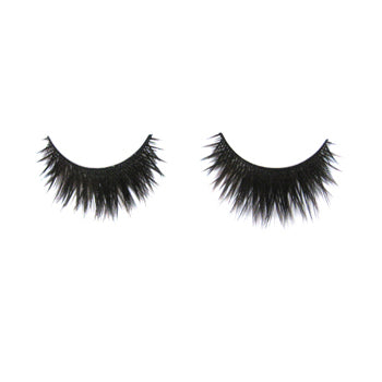 Eldora B178 Synthetic Black Criss Cross False Eyelashes