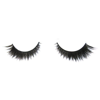 Eldora B179 Synthetic Black Criss Cross False Eyelashes