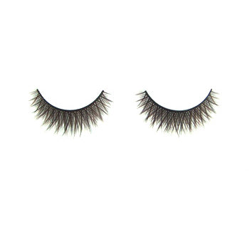 Eldora C143 Synthetic Black Criss Cross False Eyelashes