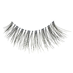Eldora H103 Real Hair Black Flared False Eyelashes