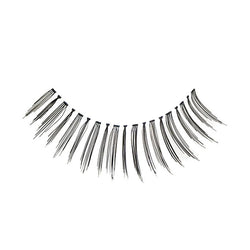 Eldora H104 Real Hair Black Winged False Eyelashes