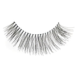 Eldora H105 Real Hair Black Flared False Eyelashes