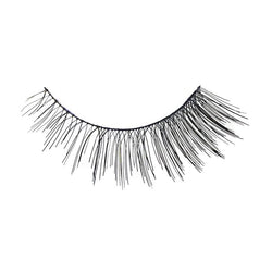 Eldora H106 Real Hair Black Flared False Eyelashes
