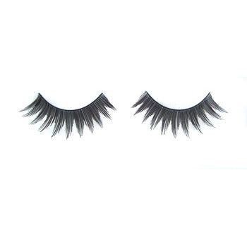 Eldora H110 Real Hair Black Round False Eyelashes