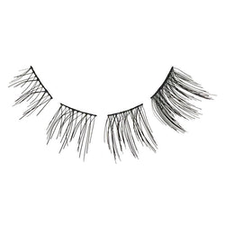 Eldora H127 Real Hair Black Flared Part Individual False Eyelashes