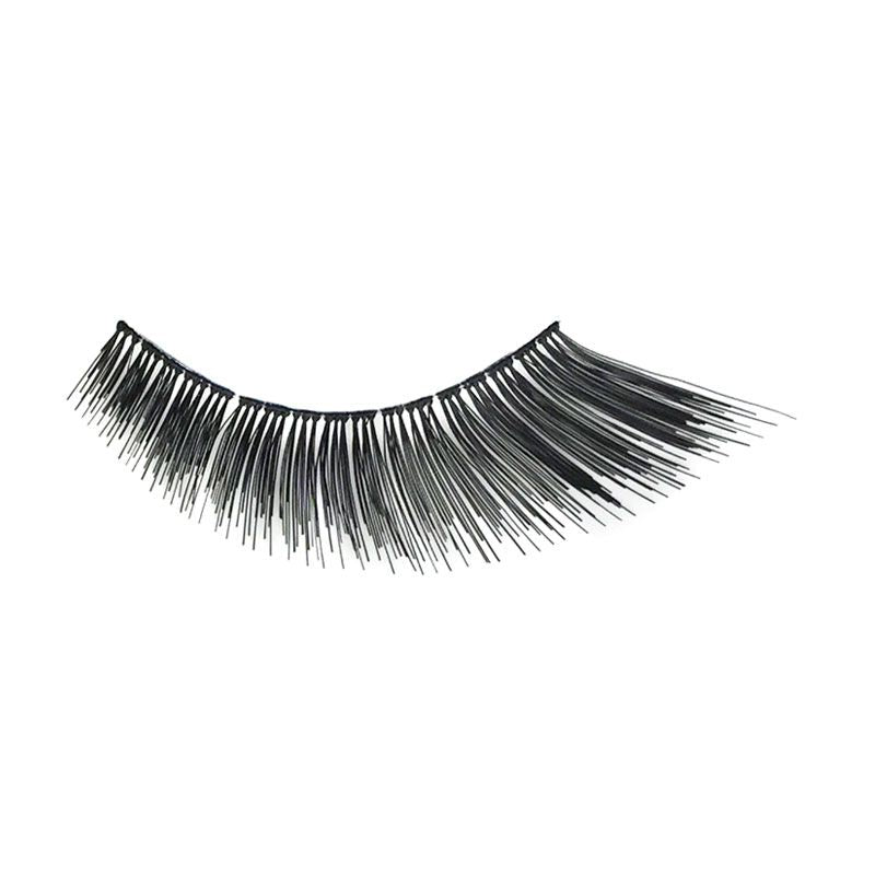 Eldora H133 Real Hair Black Winged False Eyelashes