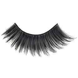 Eldora H140 Real Hair Black Winged False Eyelashes