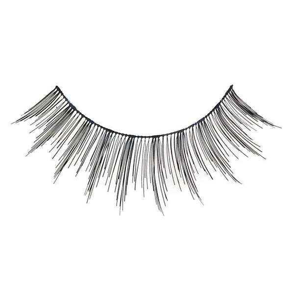 Eldora H148 Real Hair Black Round False Eyelashes