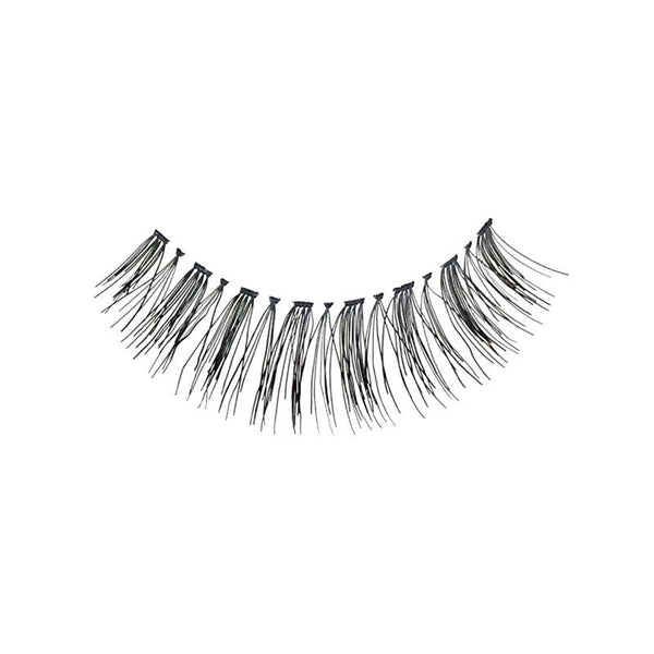 Eldora H153 Real Hair Black Flared False Eyelashes