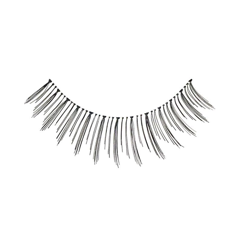 Eldora H157 Real Hair Black Round False Eyelashes