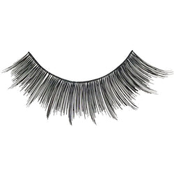 Eldora H159 Real Hair Black Winged False Eyelashes