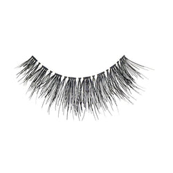 Eldora H160 Real Hair Black Flared False Eyelashes