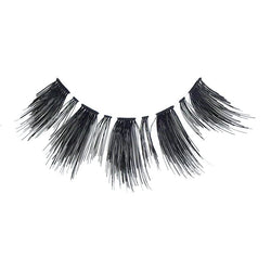 Eldora H162 Real Hair Black Flared False Eyelashes