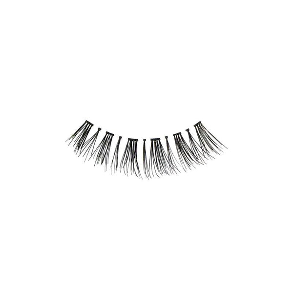 Eldora H166 Real Hair Black Flared False Eyelashes