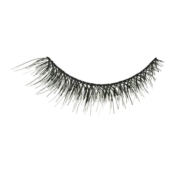 Eldora H169 Real Hair Black Flared False Eyelashes