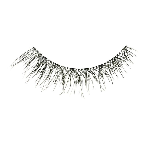 Eldora H170 Real Hair Black Flared False Eyelashes