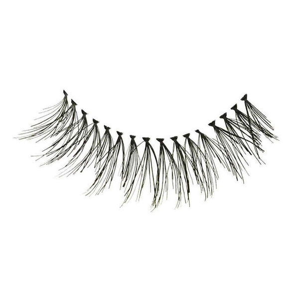 Eldora H171 Real Hair Black Flared False Eyelashes
