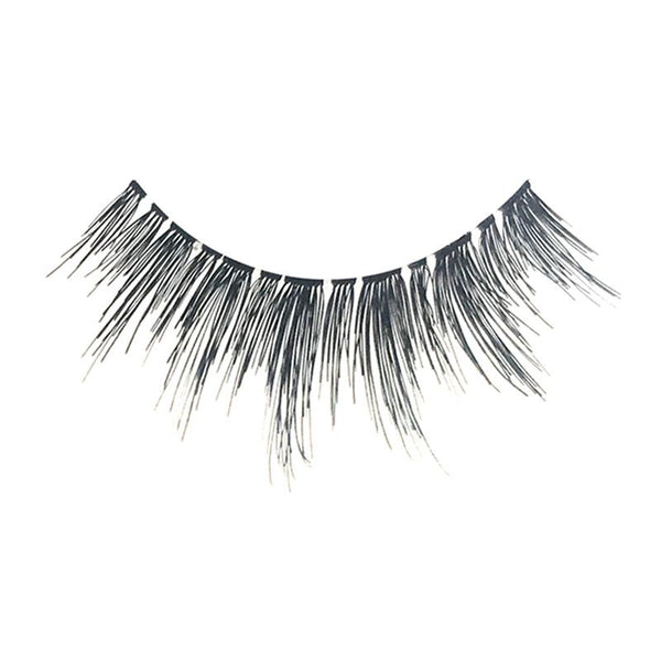 Eldora H174 Real Hair Black Winged False Eyelashes