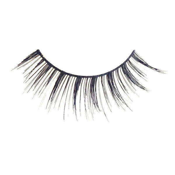 Eldora M101 Real Hair Black Multi-Layered Rounded False Eyelashes