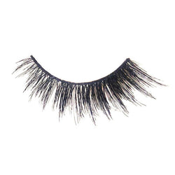 Eldora M102 Real Hair Black Multi-Layered Winged False Eyelashes
